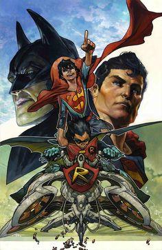 SUPER SONS #1 Simone Bianchi Variant Cover DC Rebirth