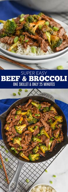 This easy Beef and Broccoli recipe is made on the stovetop and is done in under 25 minutes. Your family will love this simple and easy recipe. dinner recipes stovetop Beef and Broccoli Beef Recipes For Dinner, Easy Chicken Recipes, Asian Recipes, Vegetarian Recipes, Cooking Recipes, Healthy Recipes, Recipe Chicken, Keto Chicken, Rice Recipes