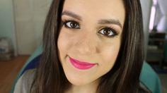 Labios rosas y ojos ??? neutrales supongo - Tutorial de maquillaje | Ruboradero / Hot pink lips and neutral eye makeup tutorial