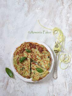 """Frittata di """"Spaghetti"""" di Zucchine"""