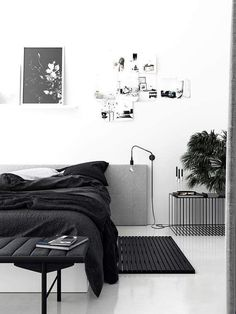 The Bedroom Of Nr13B  Immy And Indi Interior Inspiration Fascinating Monochrome Bedroom Design Ideas Design Decoration