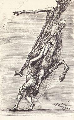 Salvador Dali. Don Quixote