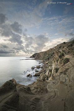 The cliff..   by Filippo D'Anselmi