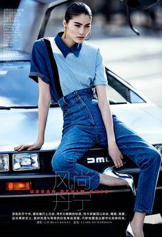 Vogue China February 2013  Model: Sui He