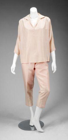 "Pink silk ensemble worn by Marilyn Monroe in ""The Seven Year Itch"", 20th Century Fox, 1955. Recently sold for $83,200 at auction."