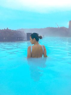 Blue Lagoon Geothermal Spa. A quick getaway to Iceland.