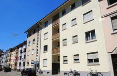 4,5-Zimmer-Wohnung in der Karlsruher Oststadt: Hausfront