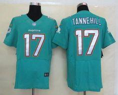 ca0f36a9de3 Nike Dolphins  17 Ryan Tannehill Aqua Green Team Color Men s Stitched NFL  Elite Jersey Raiders