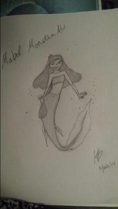 Mabel pines gravity falls monster au