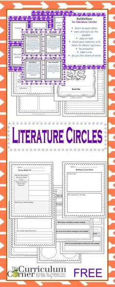 Literature Circle Resources FREE from The Curriculum Corner Up Book, Book Club Books, Book Clubs, Book Art, Teaching Literature, Teaching Reading, Guided Reading, Teaching Ideas, Reading Groups