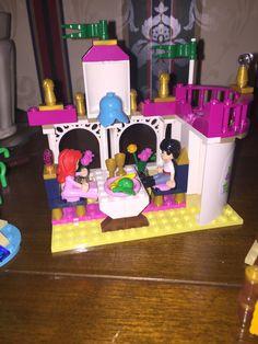 Inside of Ariel Lego set