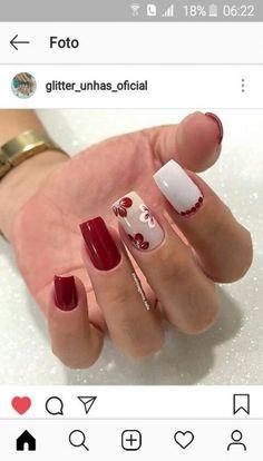 Cute Acrylic Nail Designs, Gel Nail Designs, Cute Acrylic Nails, Glitter Nails, Fun Nails, Nails Design, Creative Nails, Gorgeous Nails, Trendy Nails