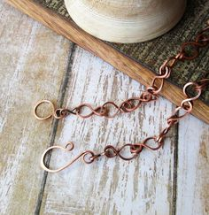 Copper chain necklace / choose your length / 16 18 20 22 24 26