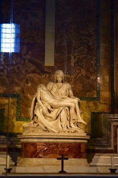 Michelangelo masterpiece here in the Vatican. Rome, Italy