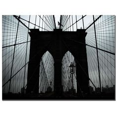 I pinned this Brooklyn Bridge Canvas Print from the Casual Contemporary with Handy Living event at Joss & Main!