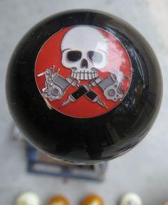 HouseOspeed - Hot Rod Shift Knob - Skull Tattoo Gun Shift Knob, $38.00 (http://www.hotrodshiftknob.com/skull-tattoo-gun-shift-knob/)