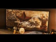 Pintura Gestual - Vela | Tudo Artesanal - 12 de Agosto de 2012 - YouTube