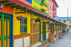 Guatape Casas Coloridas