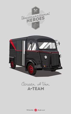 Awesome Rides - The A-Team by Gerald Bear *  Para saber más sobre los coches no olvides visitar marcasdecoches.org