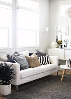 I like the mix of neutrals... for the family room? Maybe with some floor pillows?