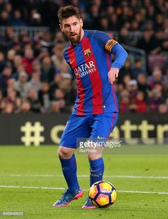Fotografía de noticias : Leo Messi during La Liga match between F.C....