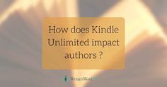 To see charts and data about the historic performance of Kindle Unlimited payouts, take a look at Written Word Media's comprehensive description. As long as Amazon represents 80 to 90 percent of most indie author ebook sales, there's little risk to new authors to enroll in KU for ninety days at a time. That said, other ebook retailers have (understandably) tried to discourage authors from going exclusive, saying that sales aren't being given a reasonable chance to grow at other channels.