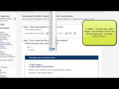 How To Find a Constituent List for the Standard and Poor's Index (University of Alberta: 2 min, 39 sec)