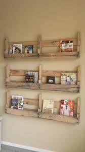Image result for pallet shelves diy