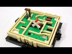 LEGO Motorized Mini Golf Maze - YouTube