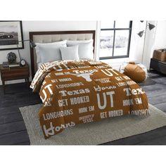 Ncaa Texas Longhorns Anthem Twin/Full Bedding Comforter, Multicolor