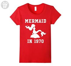 c5f22e7e Marvel Thor Father's Day Not Regular Dad Graphic T-Shirt. Womens Made In  1970 - Mermaid Birthday T-shirt Medium Red - Birthday shirts (*Amazon  Partner-Link)