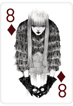 Fashion Playing Cards by Connie Lim by Connie Lim