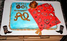 #cowboy #birthday #cake.