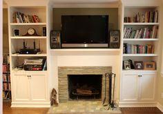 18 Fascinating Fireplace Bookcase Snapshot Ideas