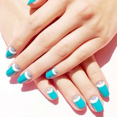 cool Always lookin fresh and neat with nail styling by @whitneygnails...