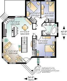 Casa plan W2168