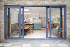 London wrap around extension/refurbishment and cellar conversion contemporary-exterior