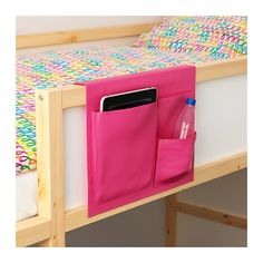 STICKAT Bed pocket IKEA Clever storage solution that you can hang on our children's beds.