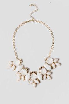 Biella Jeweled Statement Necklace