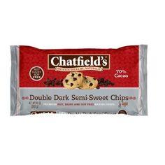 Chatfield's Double Dark Semisweet Chocolate Chip (12x10oz)