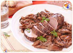 Filetto di maiale con funghi