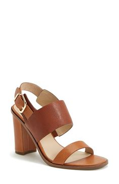 Via Spiga 'Baris' Leather Slingback Sandal (Women) (Nordstrom Exclusive) available at #Nordstrom