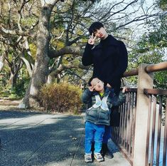 n, vixx, Today's Your youngest uncle loves you as much as the earth and the sky! I think I did well to come on this vacation Cute Asian Babies, Korean Babies, Cute Babies, Baby Kids, Father And Baby, Baby Daddy, Baby Boy, Ulzzang Kids, Ulzzang Couple