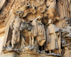 "Jesus, Mary, Joseph, and Angel - Gaudi - Sagrada Familia Cathedral, Barcelona, Spain - Matted Photo Art Print, 11""x 14"" by Romagosa Fine Arts, http://www.amazon.com/dp/B00GOGI9B6/ref=cm_sw_r_pi_dp_R1yHsb0JF3BRZ"