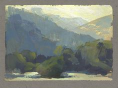 Nathan Fowkes, Land Sketch: Griffith Park