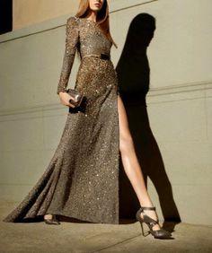23 Estupendos Vestidos de Noche   Moda y Glamour