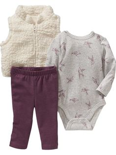 3-Piece Vest Set for Baby Product Image