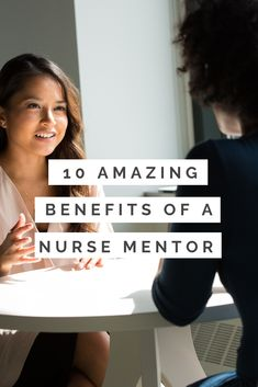 If you're a nurse that wants to challenge yourself, learn skills, enhance your judgement, and squeeze the most of your career – find a nurse mentor. There are 10 amazing benefits to finding one. Nursing Student Tips, Nursing Career, Nursing Students, Nursing Courses, Mental Health Nursing, New Nurse, Nclex, Time Management Tips, New Career