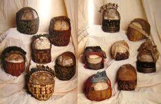 Crânes reliquaires - Anonyme, 12e-18e siècle