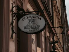 Cukrarna (Sweetshop/Cafe) Alchymista at Letna in Prague. You would probably walk by without noticing it. Alchymist is quite hidden. But what a place for a coffee in the garden on a sunny day.